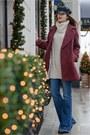 Brick-red-zara-coat-navy-zara-jeans-off-white-h-m-sweater