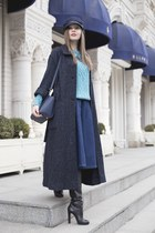 pull&bear sweater - Isabel Marant coat - pull&bear skirt