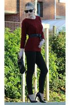 1-2-3 sweater - Zara pants