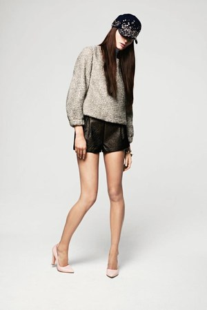 shorts - blouse