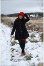 Kling-hat-modcloth-coat-kling-dress-urban-outfitters-shoes