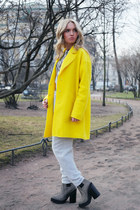 Zara coat - Jeffrey Campbell boots