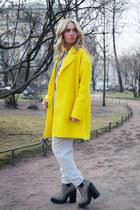 Zara coat - Jeffrey Campbell boots