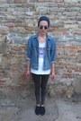 Dark-gray-moccasin-bata-shoes-dark-gray-skinny-jeans-zara-jeans-navy-h-m-hat