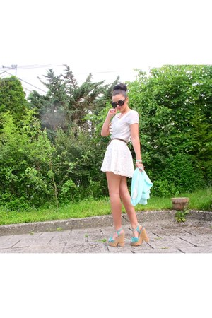 Stradivarius dress - Mango shoes - Bershka jacket - Mango glasses