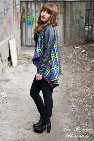 H&M boots - H&M jeans - A là Marie jacket - H&M shirt