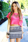 White-tribal-haute-rebellious-skirt