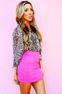 Bubble-gum-haute-rebellious-skirt-tan-haute-rebellious-blouse-black-haut