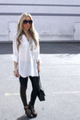 White-blouse-black-leggings-black-shoes-accessories