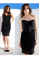 black Alexander Wang Inspired dress