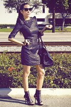 black Aldo shoes - H&M dress - Forever 21 accessories