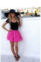 top - skirt - hat