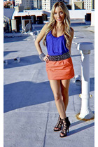 Urban Outfitters shirt - Forever 21 skirt - Soho accessories