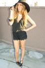 Black-jessica-simpson-shoes-black-wool-american-apparel-hat-black-lace-short