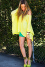 Yellow-neon-haute-rebellious-blouse-camel-haute-rebellious-bag