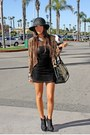 Lush-jacket-h-m-dress-michael-antonio-shoes-h-m-hat-h-m-bracelet