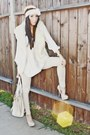 Ivory-final-touch-blouse-neutral-forever-21-leggings-beige-speed-limit-98-sh