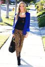 Blue-haute-rebellious-blazer-black-haute-rebellious-bag
