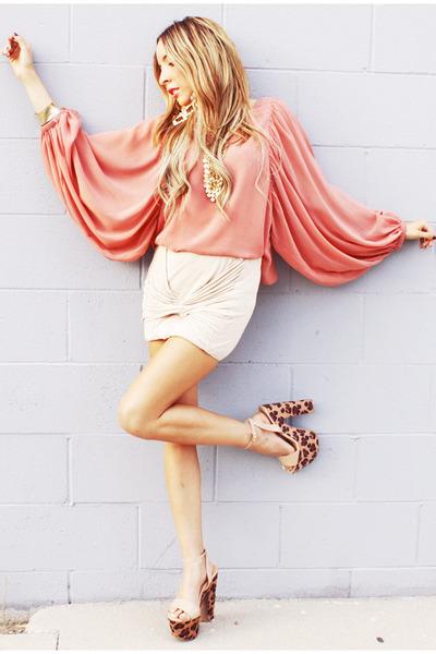 knot HAUTE & REBELLIOUS skirt - chiffon HAUTE & REBELLIOUS blouse