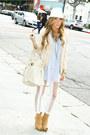 White-haute-rebellious-leggings-beige-h-m-blazer-beige-haute-rebellious-purs