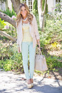 Light-pink-h-m-blazer-cream-haute-rebellious-bag
