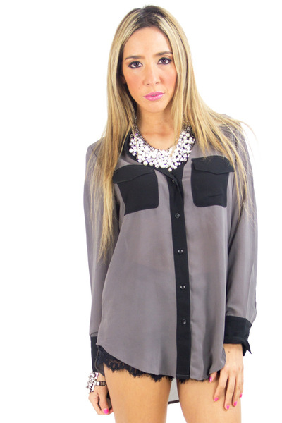 HAUTE & REBELLIOUS blouse