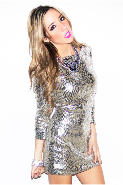 all over sequin HAUTE & REBELLIOUS dress