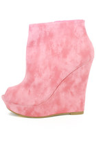 bubble gum HAUTE & REBELLIOUS wedges