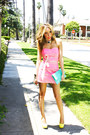 Yellow-pumps-wwwshophandrcom-shoes-bubble-gum-strapples-dress-aquamarine-www