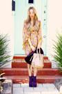 Mustard-haute-rebellious-dress-purple-suede-boots-haute-rebellious-boots