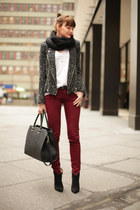 Zara jacket - Aldo boots