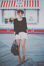 Forever 21 blazer - H&M bag - Zara shorts