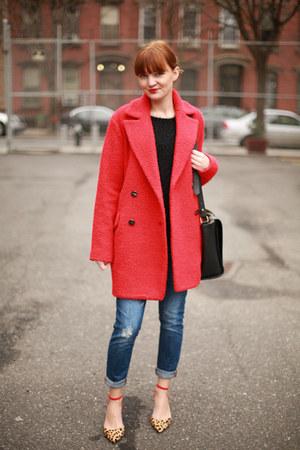 Mango coat - Zara heels