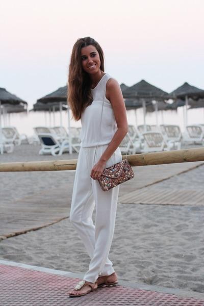 bdba bag - Zara pants