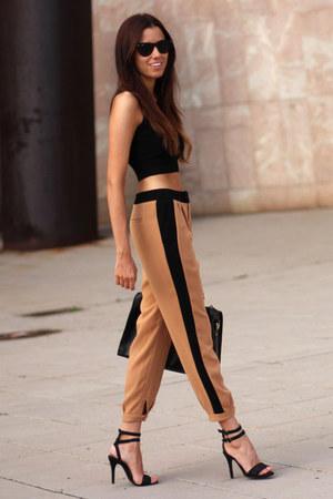 Mango top - Zara pants