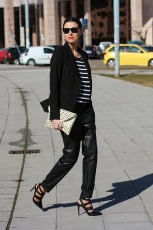 Zara blazer - Zara pants - Aldo sandals