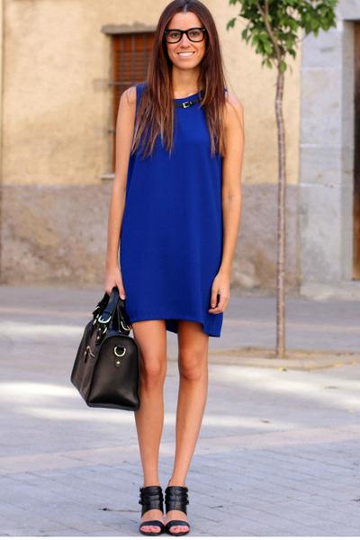 Mango dress - Zara sandals