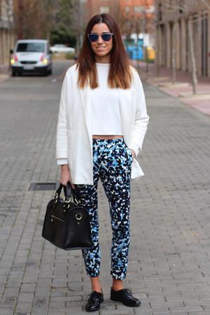 Zara blazer - Hartford sunglasses