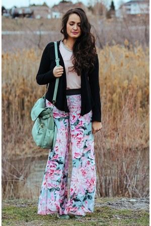 pink palazzo Lulus pants
