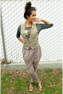 Heather-gray-suglarlips-apparel-pants