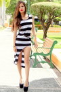 Black-stripes-tbdress-dress
