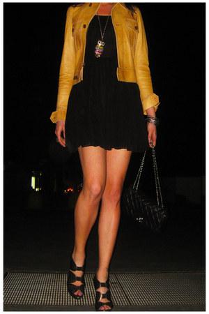 H&M dress - Ralph Lauren jacket - Chanel bag - Topshop heels