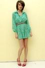 Shirt-dress-vintage-dress