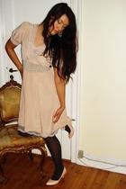 pink Saint Tropez dress - pink H&M shoes - pink H&M belt