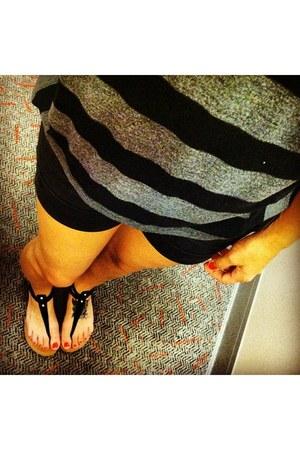 Target shorts - TJ Maxx top - Target sandals