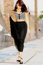 Black-american-apparel-skirt-h-m-top-black-prada-shoes