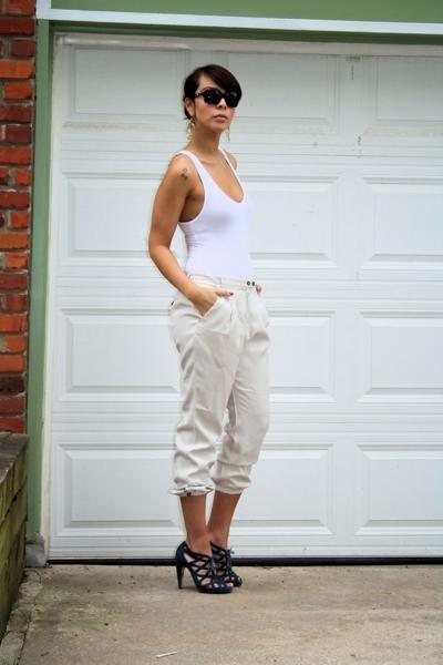 American Apparel - Zara - Dolce Vita - Chanel sunglasses