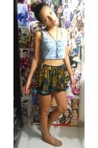 DND skirt - Zara flats