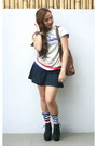 Knee-high-socks-terranova-socks-giordano-hoodie-skater-skirt-topshop-skirt