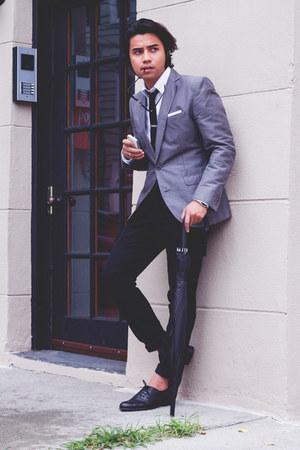 Zara shoes - hookalbert tie - asos pants